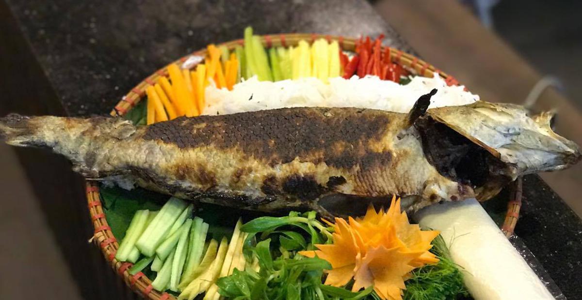 Cá lóc nướng đất sét thơm ngon, lạ miệng và đậm chất miền Tây Nam Bộ