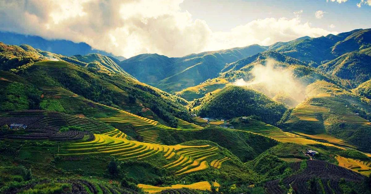 Thung lũng Mường Hoa - Top địa điểm Sapa đẹp khó cưỡng